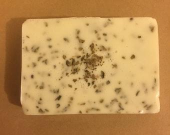 Basil Lemon Goats Milk Soap Bar