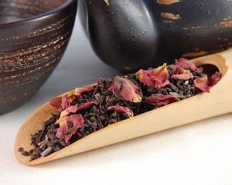 Bangalore Rose, spiced chai, loose leaf tea, 75g Caddy, Ethically sourced tea, Welsh tea, chai latte, Chai tea