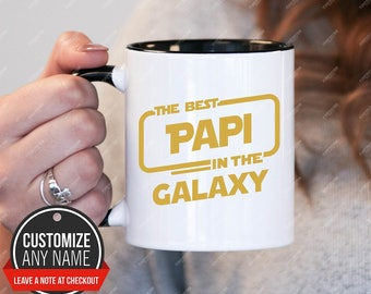 The best Papi in the galaxy, Papi Gift, Papi Birthday, Papi Mug, Papi Gift Idea, Papi Birthday Gift, Fathers Day
