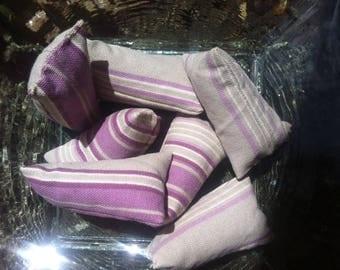 Toile de Jouy coordinated Lavender berlingots