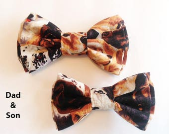 Bow Tie, Mens Bow Tie, Dad and Son Bow Tie, Dog Bow Ties, Matching Dog Bow Tie, Valentines Bow Tie, Dog Bowtie, Bowtie, Boys Bow Tie  DS753