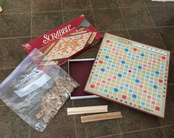 Scrabble Game with tiles or just tiles taking offers