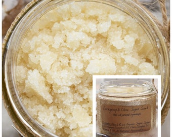 Evergreen & Clove Sugar Scrub - Body Scrub - Body Polish - Evergreen Body Scrub - Sugar Scrub