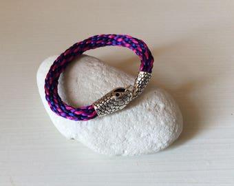 Bracelet braided Japanese snake