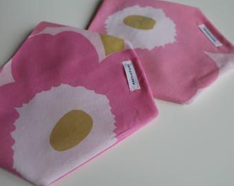 Limited edition: Marimekko bandana, bandana, pink dog bandana, cat bandana dog bandana, girl dog bandana, unique dog bandana, pet bandana