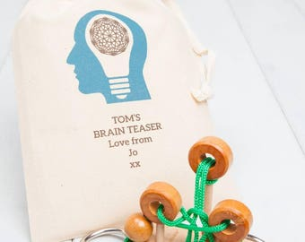 Rope Puzzle With Personalised Gift Bag