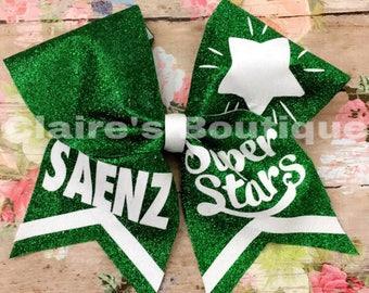 Saenz cheer bow (Green)