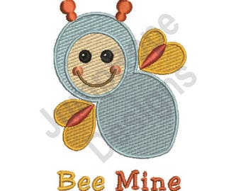 Baby Bee Mine - Machine Embroidery Design