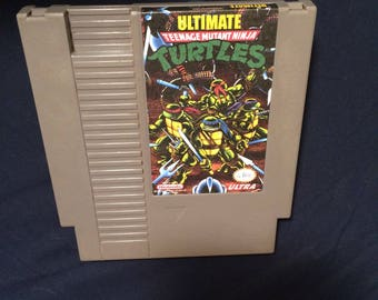 Ultimate TMNT NES Game
