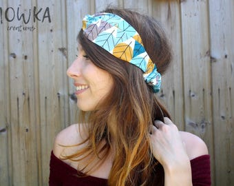TO ORDER // Headband twist organic cotton