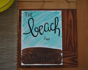 Canvas Art- Beach- Wall Decor