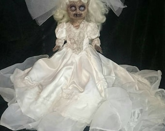 Zombie Bride Horror Doll