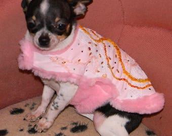 Chihuahua dog chihuahua jacket coat, handmade