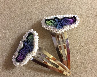 Eagle Hair Clips
