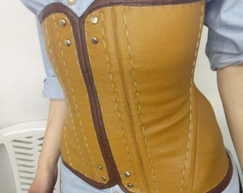 Cirilla The Witcher corset Cosplay costume made to order!