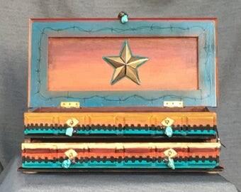 Ride 'M Cowboy Jewelry Box