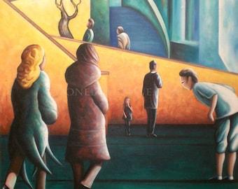 VISION - Street art painting