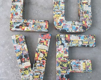 Love - Comic Book - Wedding/Engagement Sign
