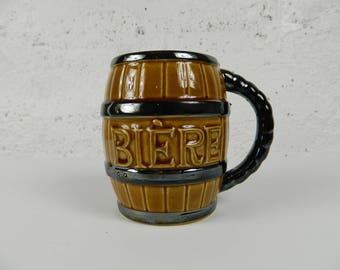 Beer barrel-shaped (JAPAN)