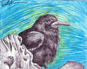 Forlorn Crow prints