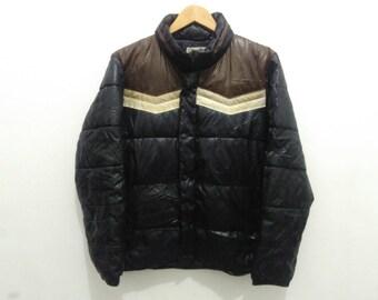 Woolrich jacket coat woolrich puffer black mens medium vintage woolrich colorblock jacket