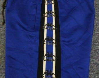 Vintage kappa short pants men blue 90s kappa striped pants kappa pants streetwear