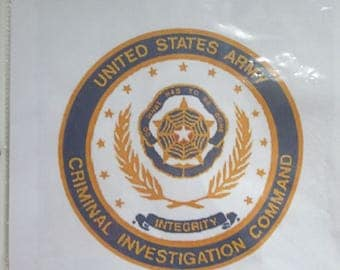 US Army Criminal Investigation Command Emblem