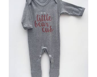 Little Bear Cub Romper