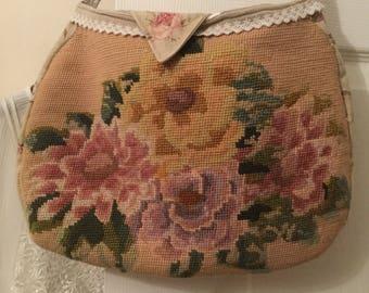 Sale was 55 now 25!Vintage tapestry. Messenger Bag. Festival hippy boho