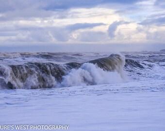 Crashing Waves, Oregon Coast, Landscape Photography, Nature Photography, Fine Art Photography, Wall Art, Home Decor, Gift