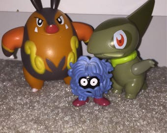 Pokemon toys set of 3