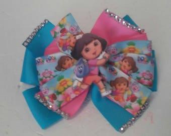 Dora the explorer bow . Dora bow