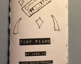 Tiny Piano - coping, escapist, quirky zine