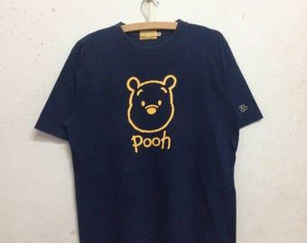 Vintage 90's Disney Resort Pooh T-Shirts Size M