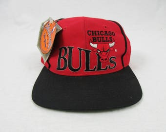 Vintage NOS 90s Chicago bulls The game Limited Edition Hat NBA Basketball Snapback