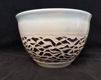 Hand Made Pottery Bowl #11