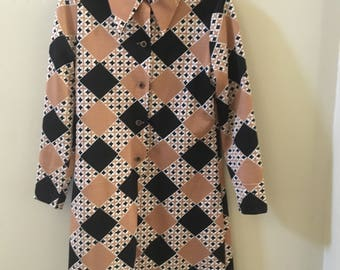 1960's-70's Arlene Andrews Dress