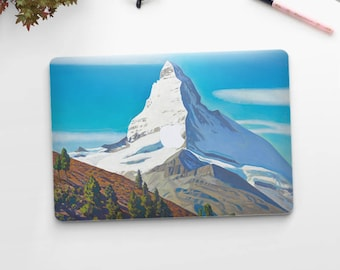 "Rockwell Kent, ""The Matterhorn"". Macbook Pro 15 skin, Macbook Pro 13 skin, Macbook 12 skin. Macbook Pro skin. Macbook Air skin."