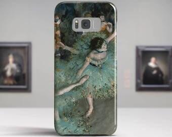 "Edgar Degas, ""The Green Dancers"". Samsung S8 Case, Samsung S7 Case, Samsung S6 Case, Huawei, LG, Google Pixel Cases. Art phone cases."