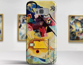 "Kandinsky ""Yellow-Red-Blue"" Samsung Galaxy S8 Case Google Pixel XL 2 Case LG V30 case Galaxy A5 2017 Case and more. Art phone cases."