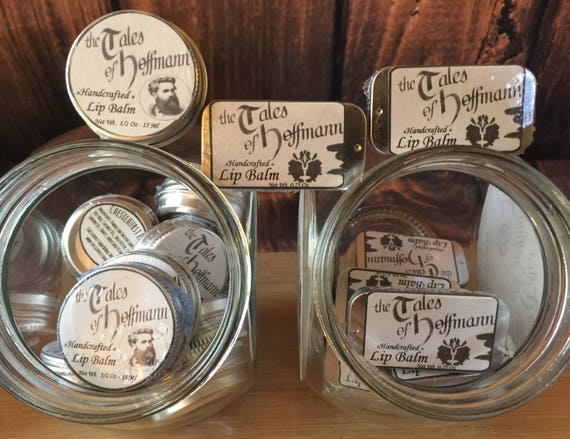 Lip Balm - The Tales of Hoffmann Handcrafted Lip Balm for Gentlemen - Chesilhurst Farm