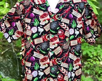 Louisiana Cajun Gumbo Hawaiian-Style Shirt
