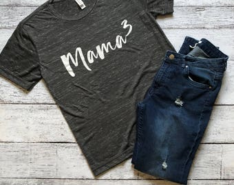 Mama Cubed Shirt / Mama Shirt / Gifts For Mom / Gifts For Her / Mom T-Shirts / Mom Shirts / Graphic Tee / Graphic T-Shirt / Mama T-Shirt