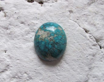 Tibetan Turquoise Cabochon. S0463
