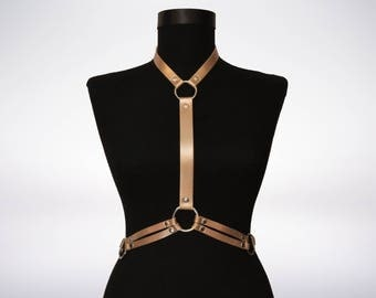 Leather Harness, Body Harness, Harness, Genuine Leather Harness