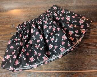 Vintage Rose Baby Girl's Skirt