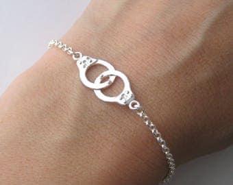 Bracelet cuffs in Silver 925/1000th pattern