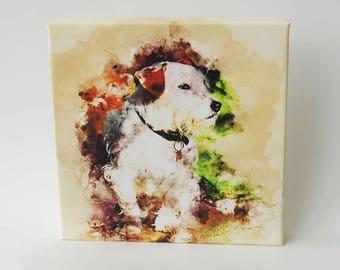 A Dogs life, Wall Art, Canvas Art, Canvas Print,  Art, Canvas Print