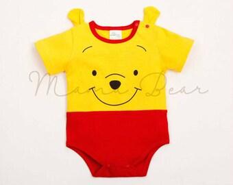 Baby romper Winnie the Pooh design costume