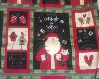 Santa book sleeve